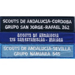 MATRICULA GRUPO BORDADA