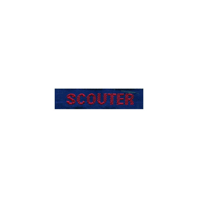 SCOUTER CLAN ROJA
