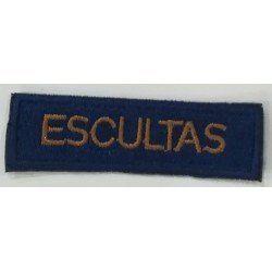 CINTA ESCULTA BORDADA