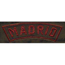 MATRICULA MADRID ASDE